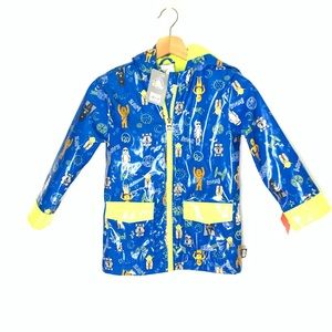 NWT Disney Star Wars Raincoat Size 5/6